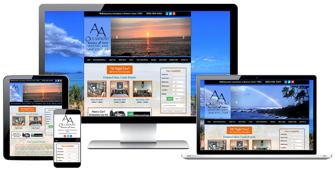 AAOceanfront Realty