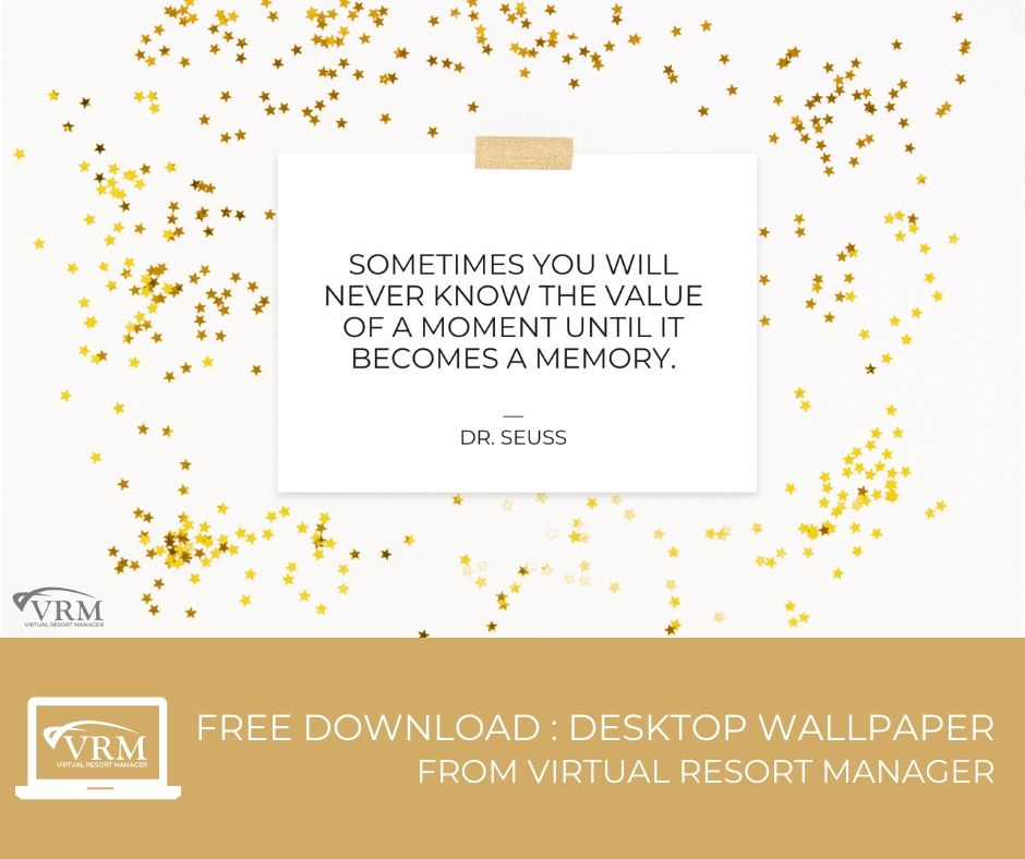 free downloadable new year quote desktop wallpaper | Virtual Resort Manger