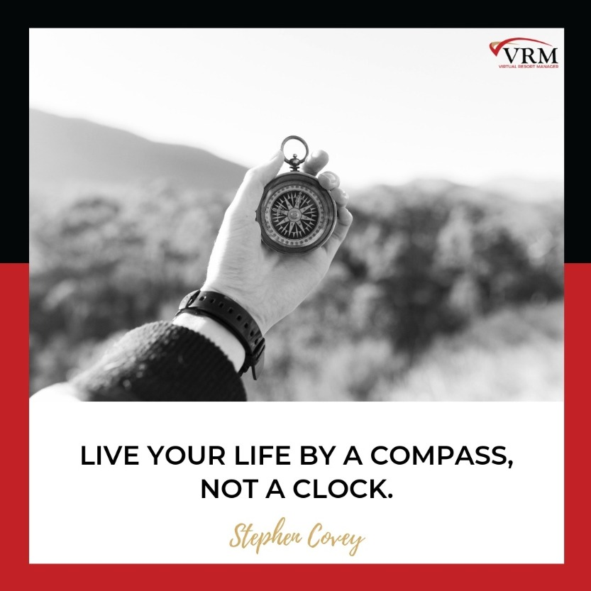Best Travel Quotes | Live your life by a compass, not a clock.  Stephen Covey