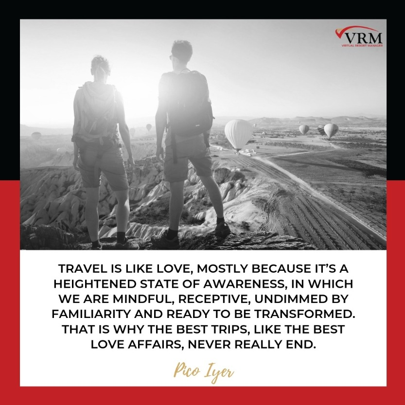 Best Travel Quotes | Travel is like love, mostly because it's a heightened state of awareness, in which we are mindful, receptive, undimmed by familiarity and ready to be transformed. That is why the best trips, like the best love affairs, never really end.  Pico Iyer