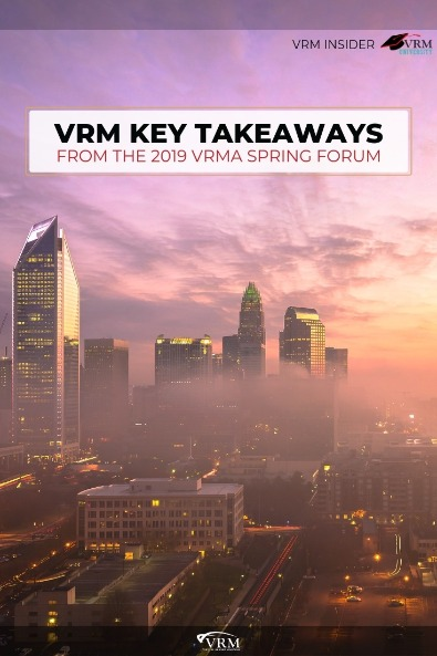 VRM Key Takeaways from the 2019 VRMA Spring Forum | Virtual Resort Manager