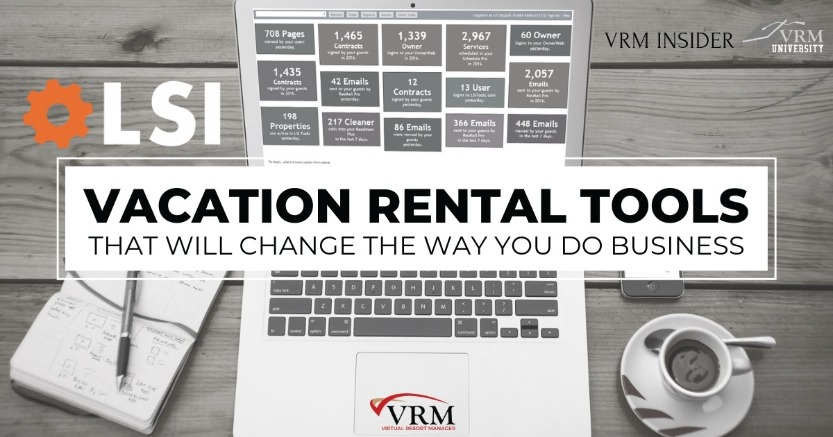 VRM Insider, Vacation Rental Tools That Will Change the Way You Do Business | Virtual Resort Manager