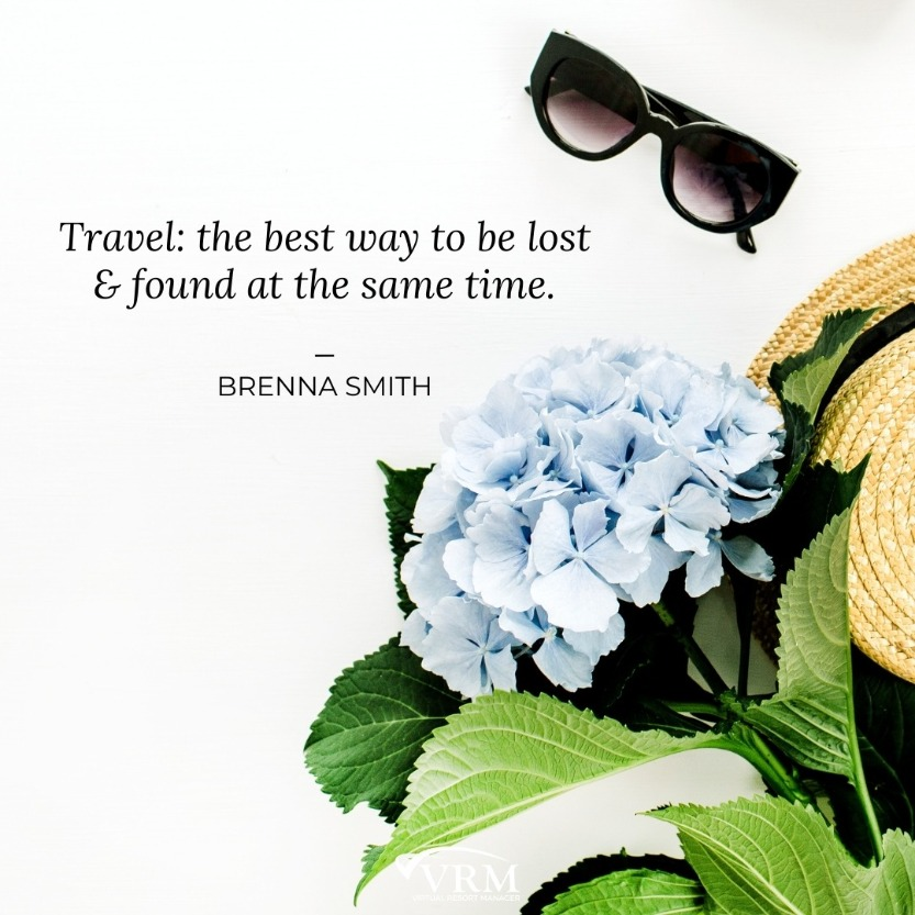inspirational spring travel quote